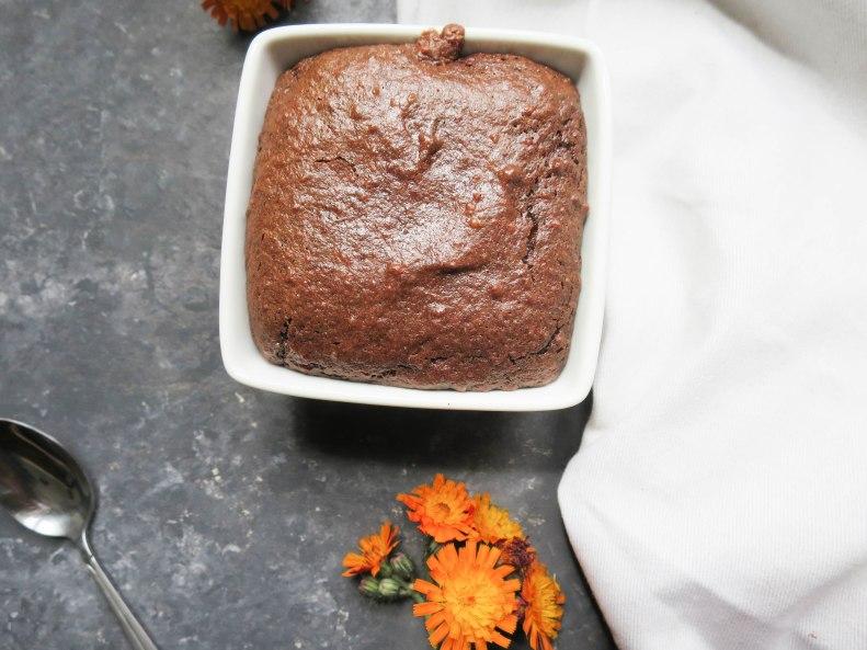Moelleux chocolat amandes